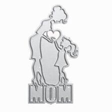 Heart Mother Metal Cutting Dies Stencil DIY Scrapbooking Album Paper Card Craft