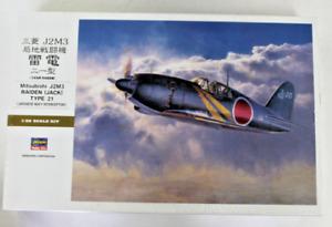 Hasegawa Mitsubishi J2M3 Raiden (Jack) Type 21 IN 1/32 8882