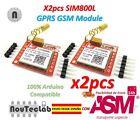 2pcs SIM800L GPRS GSM Module PCB Antenna SIM Board Quad band for MCU Arduino