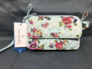 Vera Bradley Iconic RFID All in One Crossbody Water Bouquet NEW WITH TAGS!