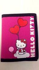 Hello Kitty - Sanrio - Portafoglio in Tessuto Rosa Scuro - Cartorama - Nuovo