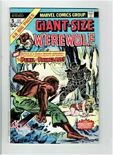 Giant-Size Werewolf by Night # 5 Marvel Comics July 1975 68 Pages F/VF 7.0