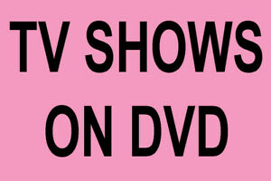 Various DVD TV Series Seasons * FREE POSTAGE * Alphabetical drop down menu