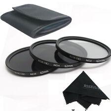 ND2 ND4 ND8 62mm Neutral Density Filter for Nikon D7100 D7000 D5200 D5100