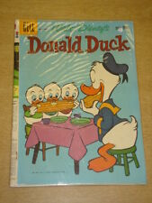 DONALD DUCK #72 VG (4.0) DELL COMICS WALT DISNEY AUGUST 1960