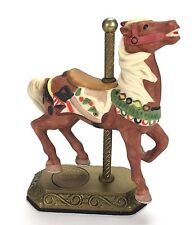 Willitts Horse Carousel Memories Figurine Americana 4080/9500 3463 Brown