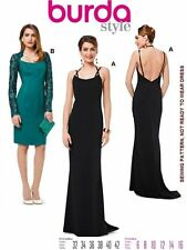 BURDA PATTERN 6994 RED CARPET EVENING GOWN BACKLESS DRESS COCKTAIL DRESS SZ 6-16