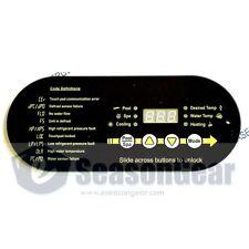 AquaCal ECS0276 Heat Pump Heater Digital LED Display Control Panel Touch pad