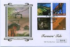 First Day Cover Farmers Tale 1999 Westminster NFU Shaftesbury Ave Official.