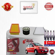 Filtres Kit D'Entretien Huile Bougies Fiat Panda II 1.4 74kw 100hp à Partir De