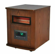 Warm Living Portable 8 Infrared Element Home Stove Heater w/ 3 Heat Settings