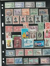 British Colonies Mint & used stamps