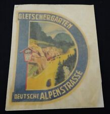 Sticker schiebebild Gletschergarten German alp veteran board 60e