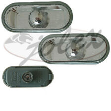 Seitliche Blinker Seitenblinker weiß Klarglas rechts+links Set Satz Paar VW T5