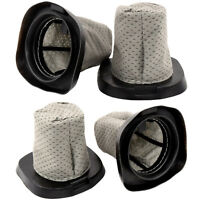 4-Pack HQRP Dust Cup Filter for Dirt Devil Versa Power Series Stick Vac Cleaners