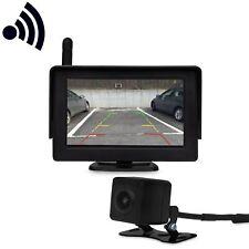 Wireless Funk Rückfahrkamera mit Monitor Einparkhilfe14.4cm/4.3 Zoll Farbdisplay