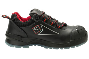 Sanita Work safe boots - steel cap - leather - heavy duty Danish design