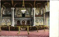 Vintage Postcard - 1909 Assembly Chamber Capital Build Albany New York NY #4245