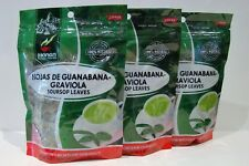 Soursoap Leaves (Hoja de Guanabana Hierba) 3 Bags