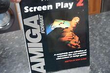Juego De Pantalla Formato Amiga Rara 2 Libro Juego sugerencias y trucos de 1991 por ministerio Evans