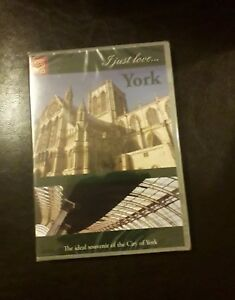 YORK CITY OF I JUST LOVE NEW AND SEALED DVD