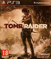 Tomb Raider PS3 Playstation 3 2013 **FREE UK POSTAGE**