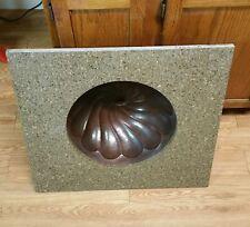 Transolid Granite 25-In X 22-In Vanity Top ~ Giallo Ornamental + sink basin