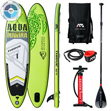 SUP Board Inflatable Stand Up Paddle bis 135 kg Set ISUP AQUA MARINA THRIVE 2019