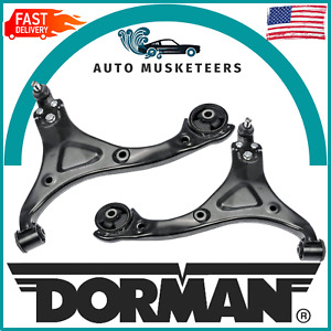 Dorman Front Left & Right Lower Control Arms Pair for Hyundai Sonata 2011-2014