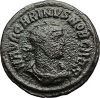 CARINUS w Victory from Jupiter or Carus  Ancient 284AD Ancient Roman Coin i71247