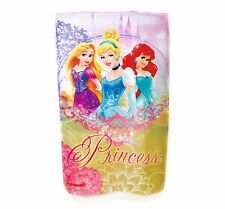 Official Disney Princess Fleece Travel Blanket Kids Girls Cinderella Warm Throw