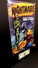 Nightmare Comic Fangs of death in 3-D large 11x17