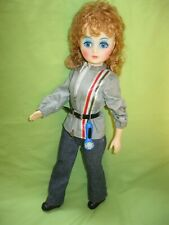 Vintage A&H NY 1981 Telephone Pioneers of America BELL DOLL Line Worker Red Hair