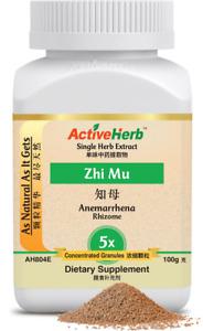 Activeherb Anemarrhena Rhizome 5x Extract Granules Zhi Mu Instant Tea 100 g