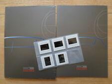 GIUGIARO ORIG 2000 Press Pack con BROCHURE + vetrini per MASERATI BURAN SAUBER