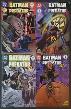 Dark Horse/DC Comics Batman vs Predator III Full Set #1-4 1st Print NM Unread