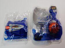 Nerf McDonalds Happy Meal Toys #3 Disc Launcher & #4 Ball Scoop NIB