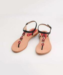 Genuine 100% Leather - Pair of elegant hand crafted summer sandals - Arianna