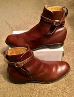 Stunning Church's Brown Custom Grade Boots. Size 95F, UK 9.5, EU 43.5. Superb.
