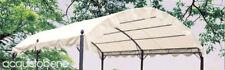 Top telo copertura tonda tettoia di ricambio per gazebo pergola 3x4 Mt Aveiro