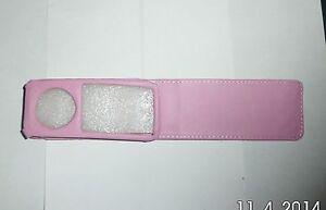 Pink iPod Nano 5th Gen. PU Leather Flip Case UK