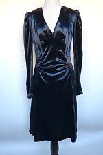 Prada Soft Blue Draped Dress. NWT Size Italian 38 US 2 Retails $2070 Price $855