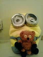 minion soft toy backpack 3D goggles good condition