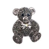 Women Enamel Rhinestone Lovely Bear Betsey Johnson Charm Brooch Pin Gifts DD