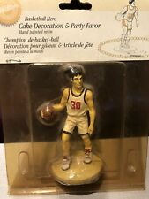 New Old Stock WILTON BASKETBALL Hero CAKE Topper & PARTY Decoration