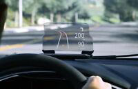 Car GPS HUD Head Up Navigation Display Smart Phone Holder Stand Projector UK