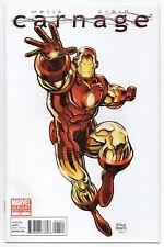 CARNAGE #1 | Vol. 1 | Arthur Adams 1:25 Iron Man Variant | RARE | 2011 | NM