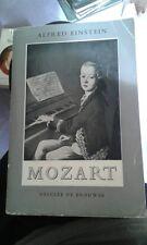 EINSTEIN Alfred. Mozart. Desclée de Brouwer. 1953. Ex-libris Jean Witold.