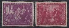 DDR MiNr. 248-249 (Leipziger Messe 1950) kpl. postfrisch