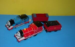 Thomas Trackmaster James and Thomas - Both Light-up - For Parts